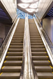 Escalator at the airport Royalty Free Stock Photography