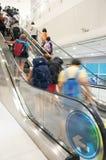 Escalator in the Airport Stock Photos
