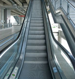 Escalator At Elevated Train Station In Bangkok Royalty Free Stock Photo