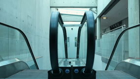 Escalator. With automatic movement HD1080 stock video