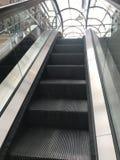Escalator. Beautiful view and sky Stock Photo