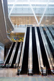 Escalator at Changi Airport Royalty Free Stock Photos