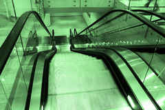 Escalator, close-up Royalty Free Stock Photos
