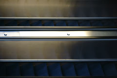 Escalator Closeup Stock Photography