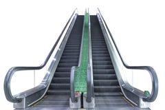 Escalator d'isolement Photos stock