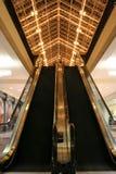 Escalator de mail Photographie stock