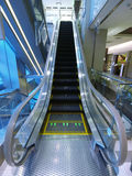 Escalator in department store Royalty Free Stock Photos