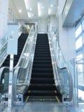 Escalator in department store Stock Image