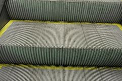 Escalator detail Stock Photography