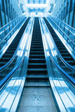 Escalator going up stair Royalty Free Stock Image