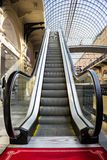 Escalator in GUM Royalty Free Stock Photos