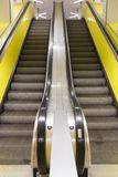Escalator in Hamburg tube Stock Photography