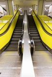 Escalator in Hamburg tube Stock Images