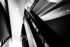 Escalator in the Hirshhorn Museum, Washington, DC. Royalty Free Stock Images