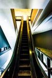 Escalator in the Hirshhorn Museum, Washington, DC. Royalty Free Stock Photo