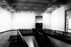 Escalator in the Hirshhorn Museum, Washington, DC. Royalty Free Stock Image