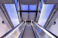 Escalator indoor Royalty Free Stock Photo