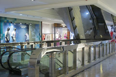 The escalator Stock Photography