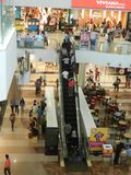 People are walking ans shopping at viviana mall, mumbai, india, 23rd September 2017 stock photography