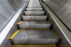 Escalator inside subway station Royalty Free Stock Photography
