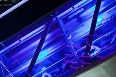 Escalator machinery Stock Images