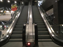 The escalator at the Mall Royalty Free Stock Photography
