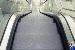 Escalator in a mall Royalty Free Stock Photos