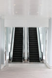 Escalator in the mall. Stock Images