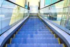 Modern shopping mall interior. Escalator at the Mall. Modern interior of the shopping center Stock Photo