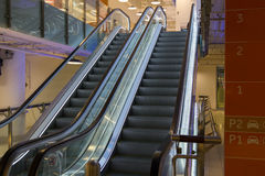 Escalator in the mall Royalty Free Stock Images