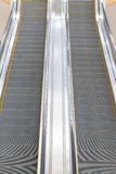 Escalator in a mall Royalty Free Stock Photo