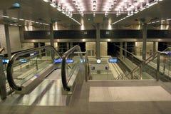 escalator modern στοκ εικόνες