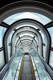 Escalator in modern building Royalty Free Stock Photos
