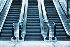 Escalator in modern interior Royalty Free Stock Photo