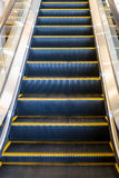 escalator in modern office building Stock Photo