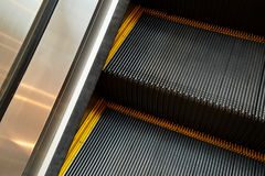 Escalator and modern shopping mall Stock Image