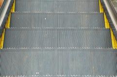 Escalator and modern shopping mall Stock Photo