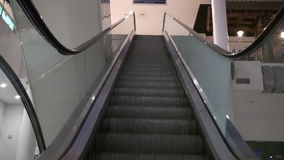 Escalator Moving Stairs HD stock footage