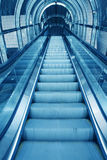 Escalator  in office building Royalty Free Stock Image