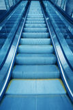 Escalator  in office building Royalty Free Stock Photography