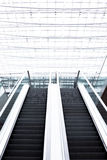 Escalator Office Building, background, overexposed Royalty Free Stock Photos