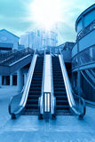 Escalator in the outdoor Royalty Free Stock Photos