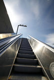 Escalator in the outdoor under Royalty Free Stock Photos
