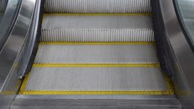 Escalator. Running up and down stock video footage