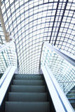 Escalator in shopping center, Moscow Royalty Free Stock Images