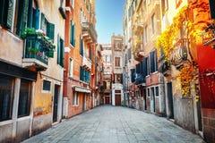 Venice. View of street in Venice, Italy Royalty Free Stock Photos