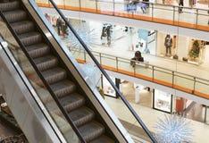 Escalator. Royalty Free Stock Photo