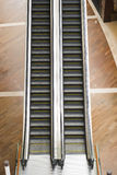 Escalator in the shopping mall Stock Photo