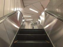 Escalator at the shopping mall in Osaka, Japan Stock Photo
