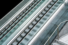 Escalator side Stock Photography